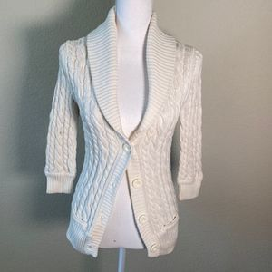 AMERICAN EAGLE Knit Cardigan Size Small